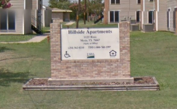 Hillside Apartments | 1125 N. Ross Ave, Mexia, TX, 76667 ...