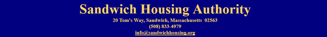 Sandwich Housing Authority