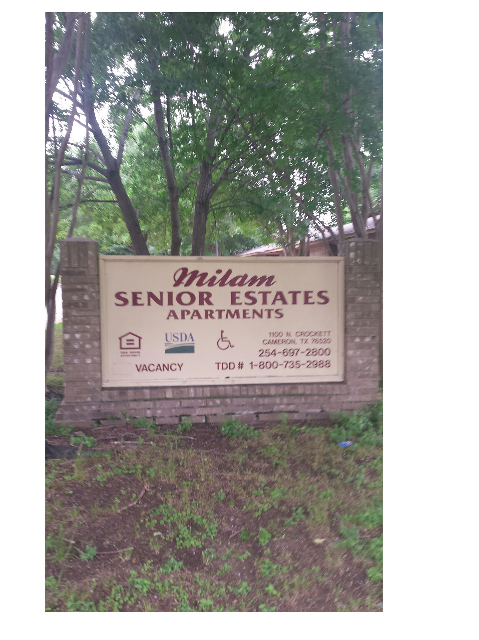 Milam Senior Estates