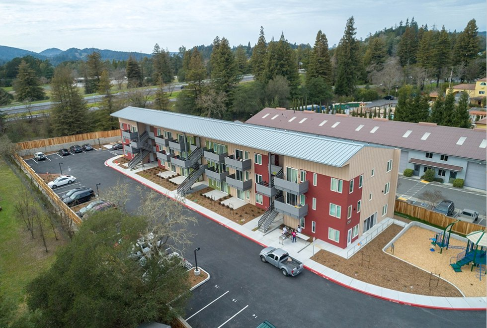 Healdsburg Glen Apartments